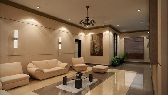 Realizace interiérů - ložnice, obývací pokoje, kancelář